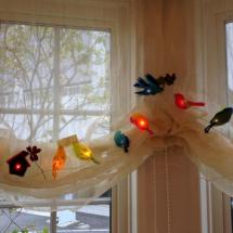 Christmas of Small Birds
